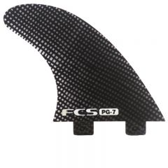 PG-7 Carbon Smoke Tri Fin Set